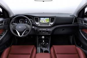 Новый Hyundai Tucson, передняя панель