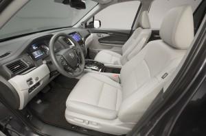 Honda Pilot, передние сиденья