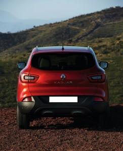 Renault Kadjar, вид сзади