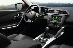 Новый Renault Kadjar, передняя панель