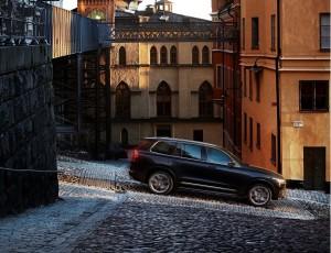 Volvo XC90 2015, вид сбоку