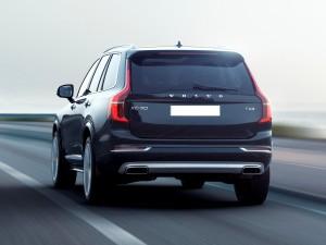 Volvo XC90 2015, вид сзади