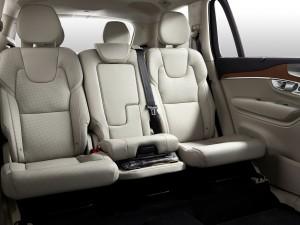 Volvo XC90, задние сиденья