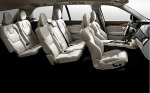 Новый Volvo XC90, салон