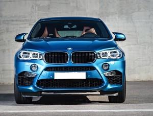 BMW X6 M 2015, вид спереди