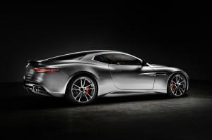 Aston Martin Thunderbolt 2015, вид на заднюю диагональ