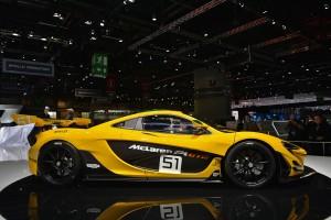 McLaren P1 GTR, Женевский автосалон