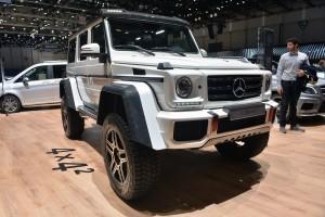 Mercedes-Benz G500 4X4-2