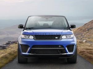 Range Rover Sport SVR 2015, вид спереди