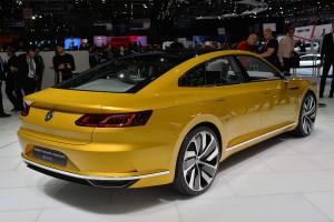 Volkswagen Sport Coupe GTE, Женевский автосалон