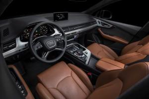 Новый Audi Q7, передняя панель