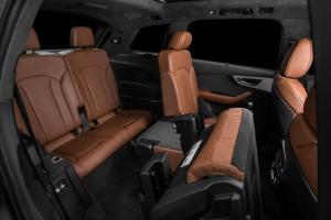 Новый Audi Q7, третий ряд сидений
