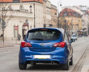 Opel Corsa OPC 2015, вид сзади