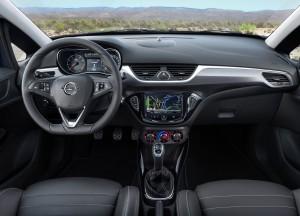 Opel Corsa OPC 2015, передняя панель