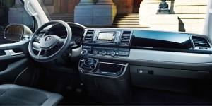 Volkswagen T6 2015, передняя панель