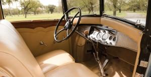 Cadillac V16, салон