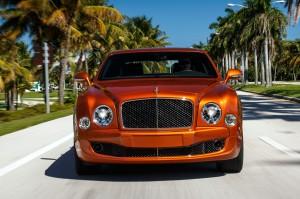 Bentley Mulsanne Speed 2015, вид спереди