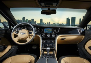 Bentley Mulsanne Speed, передняя панель
