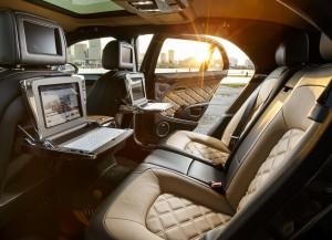 Новый Bentley Mulsanne Speed, задние сиденья