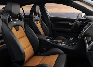 Cadillac ATS-V, передние сиденья
