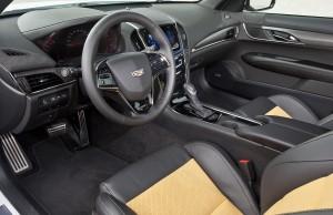 Cadillac ATS-V, передняя панель
