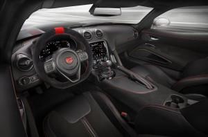 Dodge Viper ACR, передняя панель