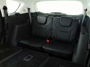 Ford S-Max 2015, третий ряд