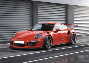 Porsche 911 GT3 RS 2015, вид на переднюю диагональ