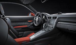 Porsche 911 GT3 RS, сиденья