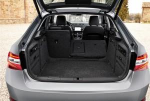 Новый Skoda Superb, багажник