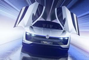Volkswagen Golf GTE Sport 2015, вид спереди