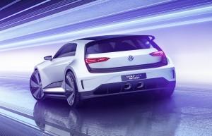 Volkswagen Golf GTE Sport 2015, вид сзади