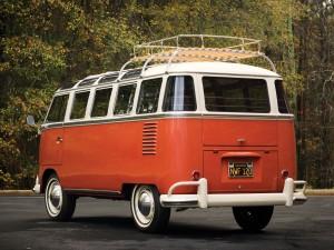 Volkswagen T1, вид сзади