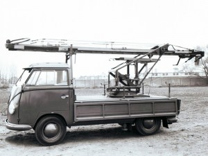 На базе Volkswagen T1 создано немало специальной техники