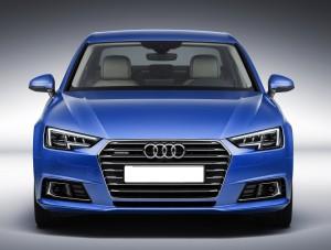 Audi A4 2015, вид спереди