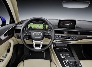 Audi A4 2015, передняя панель