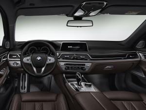 BMW 7 Series G11, передняя панель