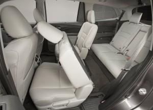 Honda Pilot, сиденья третьего ряда