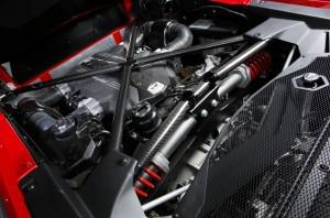 Lamborghini Aventador LP750-4 SV, двигатель