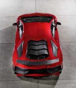 Lamborghini Aventador LP750-4 SuperVeloce 2015, вид сверху