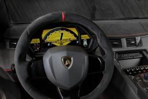 Lamborghini Aventador LP750-4 SV 2015, передняя панель