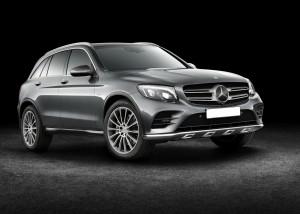 Новый Mercedes-Benz GLC, вид на переднюю диагональ