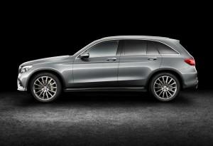 Mercedes-Benz GLC, вид сбоку