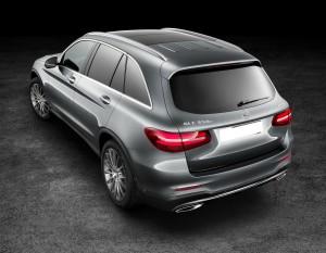 Mercedes-Benz GLC 2015, вид сзади