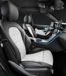 Mercedes-Benz GLC, передние сиденья