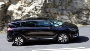 Renault Espace 2015, вид сбоку