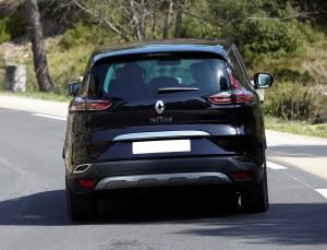 Новый Renault Espace, вид сзади