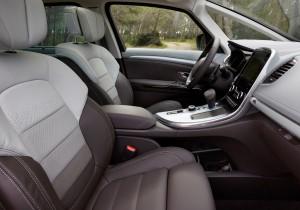 Новый Renault Espace, передние сиденья