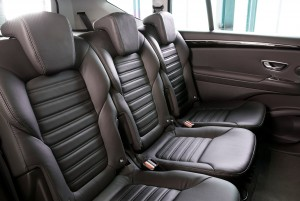 Новый Renault Espace, задние сиденья