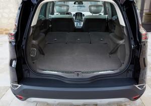 Renault Espace 2015, багажник